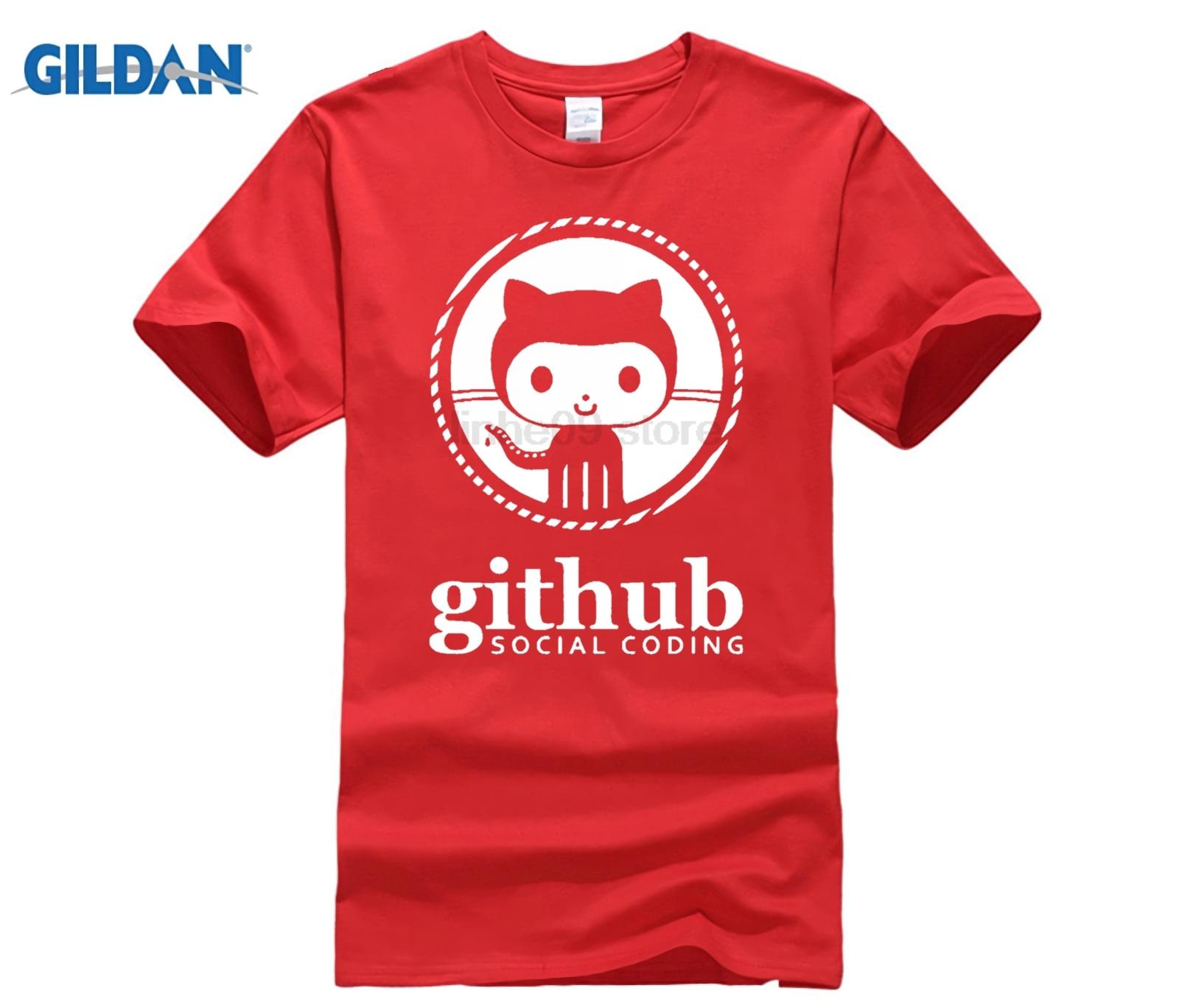 GEEK Linux Programmer Github Social Coding Geek Mens Fashion T shirts O-neck 100% Cotton 220gms Boys Solid T-shirt Black colored