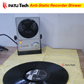 Anti static ion eliminate air blower fan for dry vinyl lp recorder, CD / VCD / turntable record player accessories