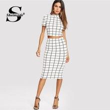 9cc564792 Black and White Top and Skirt Set - Compra lotes baratos de Black ...