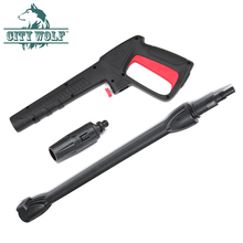 Высокое давление распылитель омывателя водяной пистолет и Лэнс qucik подключен для AR Black Deck Bosche AQT моечная уставновка аксессуары