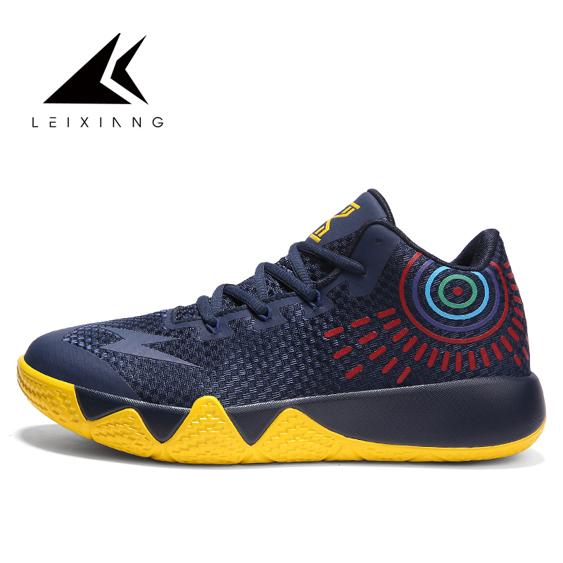 2019 New Big Size 45 Men Basketball Shoes Couple Midium Cut Basketball Sneakers Sport Shoes Zapatillas Basquetbol Basket Homme(China)