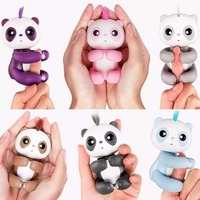 Finger Panda Toy Children Electronic Pet Kid Intelligent Interactive Toy Cartoon Panda Shapes Toys Kids Christmas