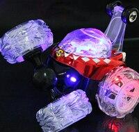 Stunt Car RC Car Remote Control Toy Electric Toy Dancing Dump Car Dumper Rolling Rotating Wheel
