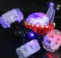 RC Carro de Brinquedo de Controle Remoto Carro dublê com Luz e Música Dança Brinquedo elétrico Despejo Dumper Carro Rolamento de Giro Da Roda Do Veículo caminhão