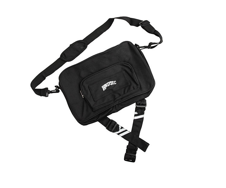 Watch Dogs 2 Marcus Holloway Cosplay Bag Men Messenger Bag shoulder bag with badge Pendant in Costume Props from Novelty Special Use