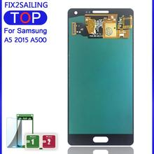 LCDs For Samsung Galaxy A5 2015 A500 A500F A500FU A500H A500M Phone Super AMOLED LCD Display Touch Screen Digitizer Replacement