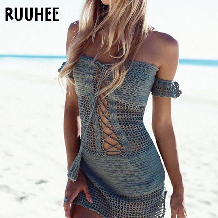 b52df5bf5f888 RUUHEE Women Sexy Bikini Beach Cover-up Swimsuit Covers up Bathing Suit  Summer Beach Wear