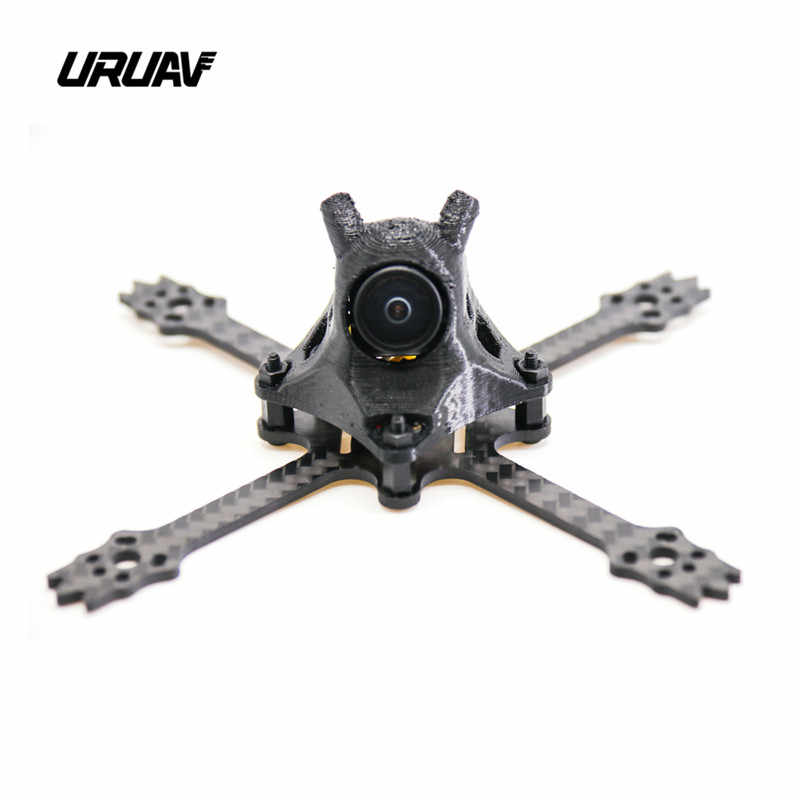 Ruav UR12 mondadientes 100mm 2,5 pulgadas real X 2mm tablero inferior FPV Racing Frame Kit