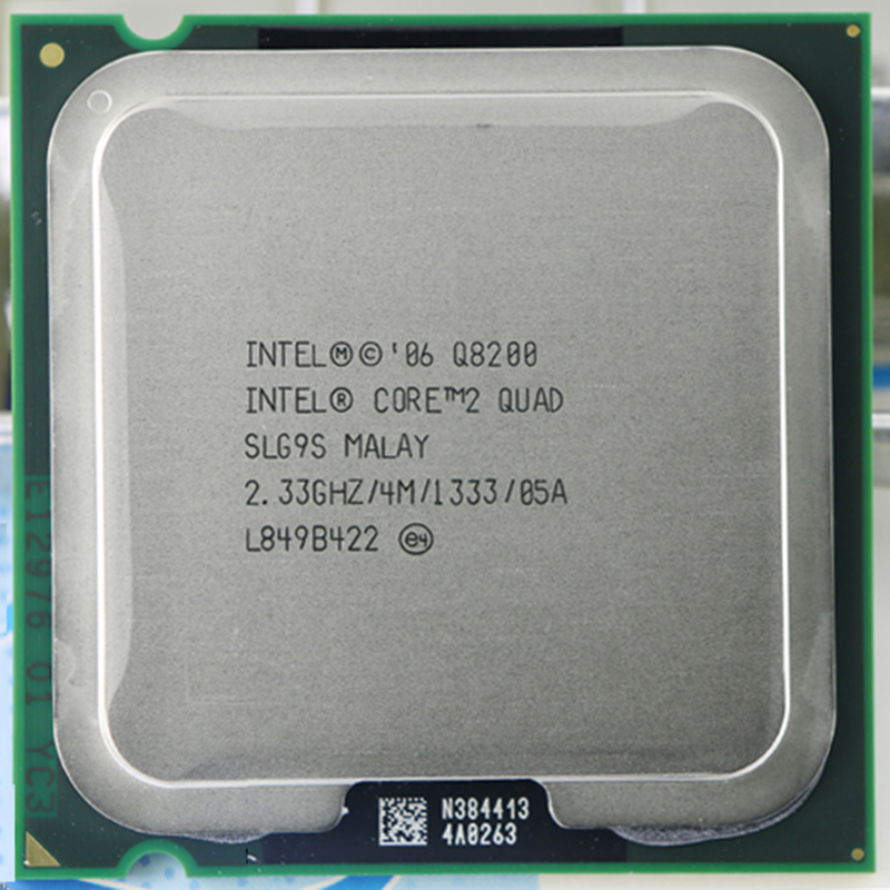 INTEL Core 2 Quad Q8200 CPU Processor (2.33Ghz/ 4M /1333GHz) Socket LGA 775 Desktop CPU Free Shipping