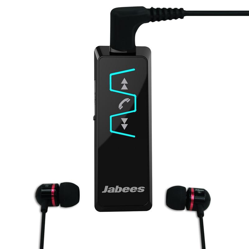 bilder für Original Jabees IS901 Bluetooth Headset Stereo Kragen Clip Bluetooth Kopfhörer Empfänger Drahtlose Kopfhörer Kopfhörer Musik-player