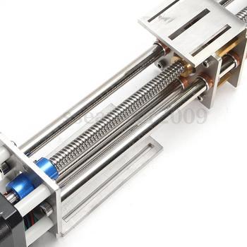 Cnc Eje Z   50mm/150mm Carrera Deslizante CNC Z Eje Movimiento Lineal Deslizante + NEMA17 Motor Paso A Paso Para La Máquina De Grabado Reprap