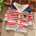 New Autumn spring Boys Girls outwear sweaters cartoon bear Baby Cardigan Sweater Knit Children Clothing