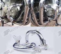 Chrome Crash Bars Engine Guard For Honda CB750 F2 Seven Fifty RC42 1992 93 94 95