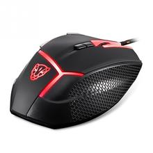 4000DPI Optical Gaming Wired Mouse With Lamp for Pro Gamer