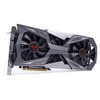 Colorful IGame GTX1080Ti Vulcan X OC Video Graphics Card GPU 1620 1733MHz 11G 352bit SLI VR