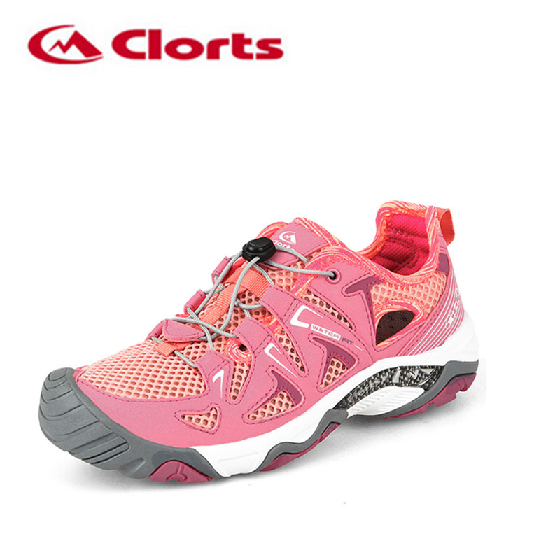Clorts Aqua Shoes woman 2017 New Arrival Summer Women Quick Drying Upstream Shoes Non-slip Outdoor Sneakers Water Shoes три поросенка 3d сказка