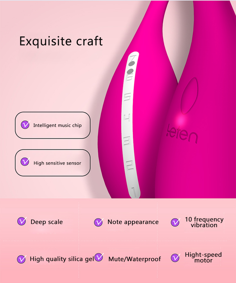 Leten Silicone Mini G-spot Bullet Vibrator Massager Rechargeable Wireless Nipple Clit Vibrators Erotic Toys Sex Machine For Men 9