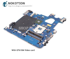 NOKOTION For Samsung NP300 NP300E NP300E4C Laptop Motherboard HM77 DDR3 GT610M BA92-08200A BA92-08200B Scala3-14CRV