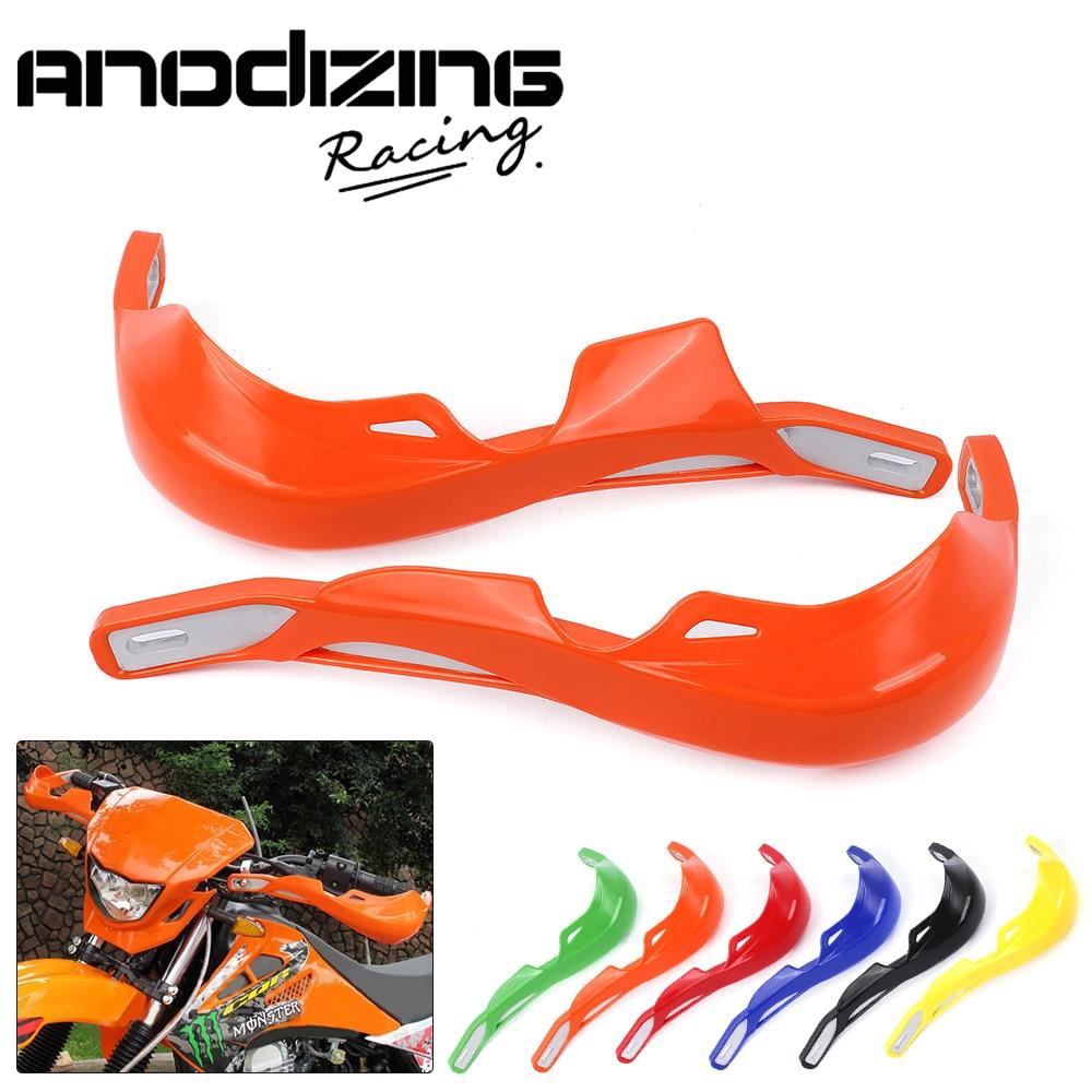22mm Alloy Insert Pit Dirt Bike Motorcycle Motocross Handguard Protector Protection Handlebar <font><b>Hand</b></font> Guards