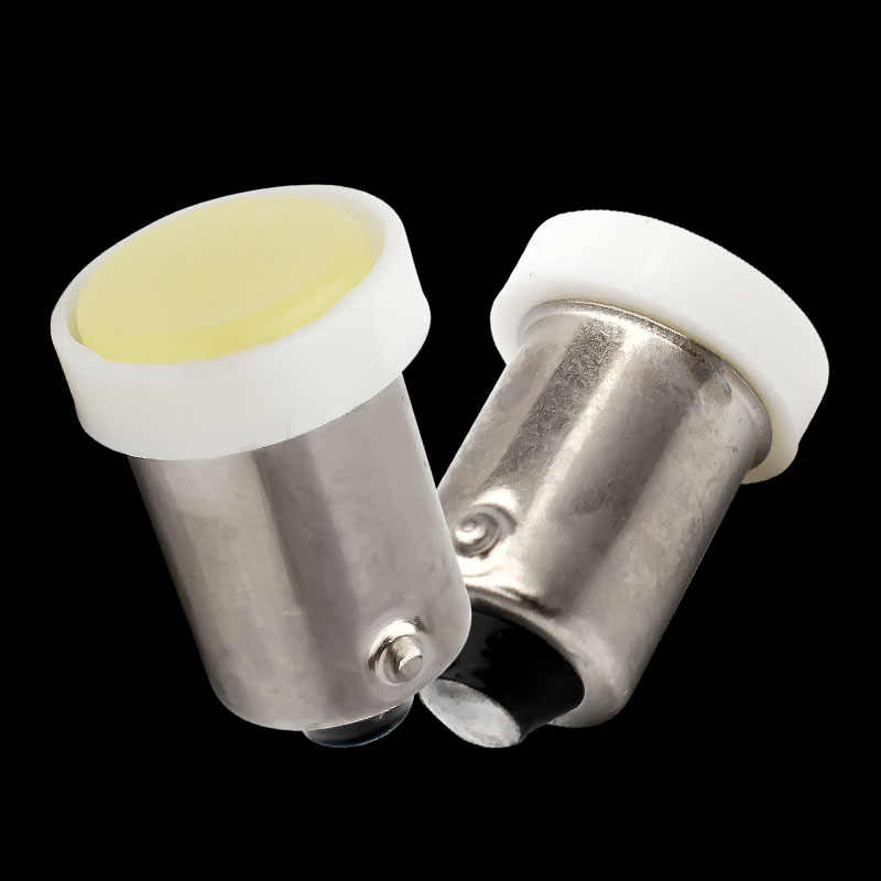 1pcs BA9S T4W 363 T11 Ceramic COB LED auto Clearance Lights car marker light parking Bulbs reading dome Lamp license plate light