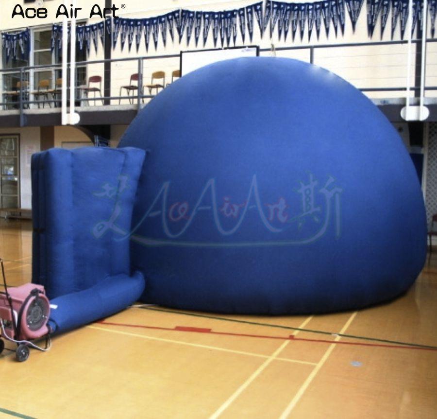 Портативная Астрономия кино/Театр палатка надувной планетарий/открытие купольная палатка для астрономии образование и выставка