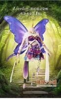 anime Love Live NOZOMI TOJO cosplay costume flower Fairies Halloween dress party suit uniform free shipping