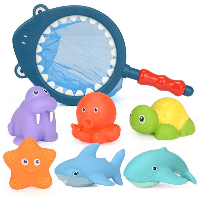 Floating Toys for Bathroom 7 pcs Set