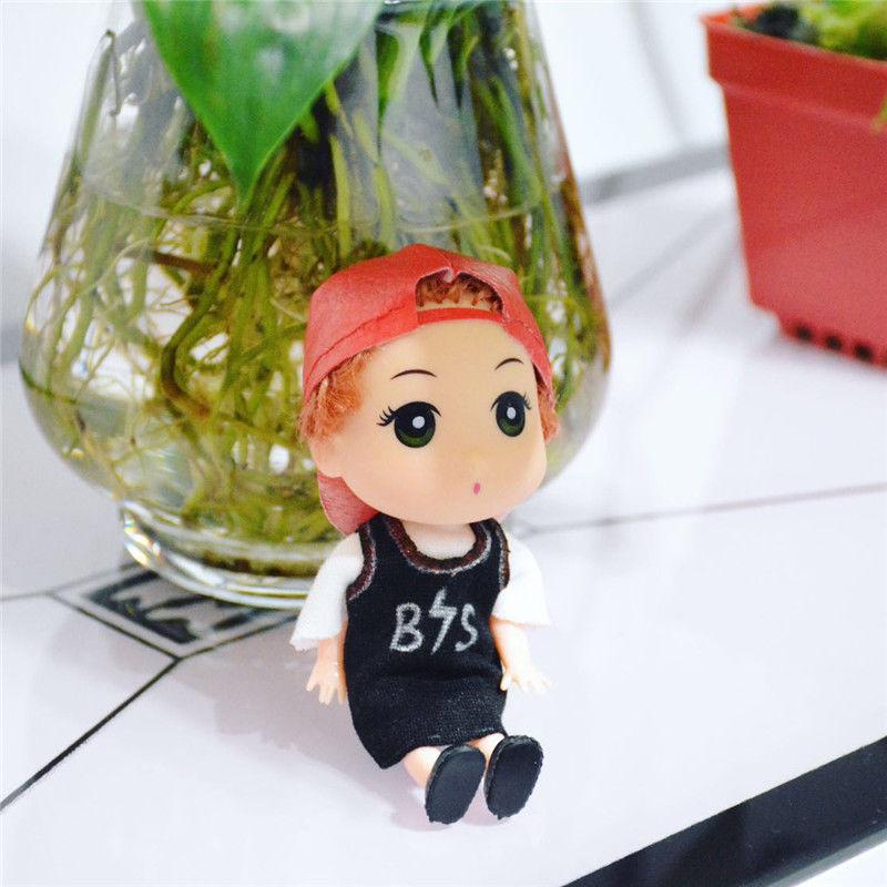KPOP BTS Bangtan Boys 13cm/5 V Doll Figure Gift Handmade Model Toy Collection