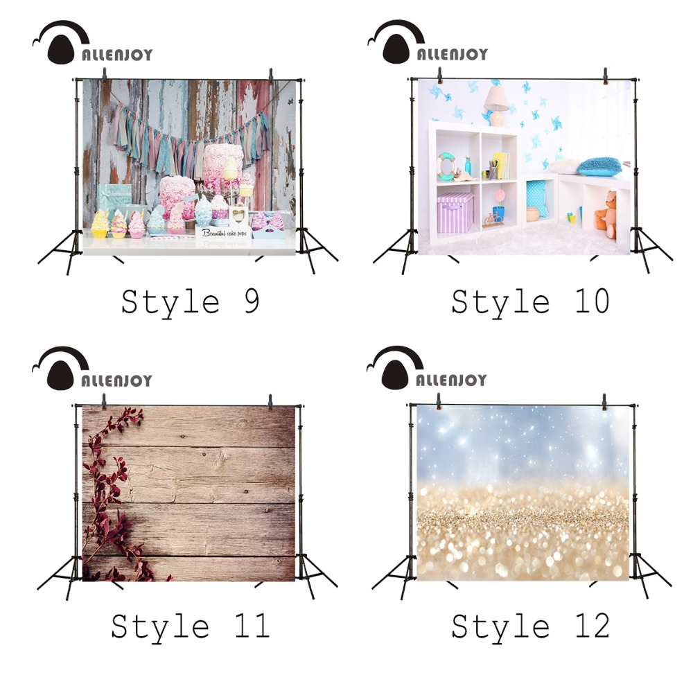 Allenjoy 5x3ft photography background candy table newborn birthday celebration vinyl backdrop cute baby Studio12 kinds of style vinyl backdrop photography lovely painting of wildflowers newborn photography background cm s 110