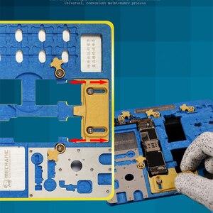 Image 2 - لوحة الدوائر PCB حامل تهزهز تركيبات محطة العمل آيفون XR/8P/8/7P/7/6SP/6S/SE/6P/6/5s/5 المنطق المجلس a7 A12 رقاقة إصلاح