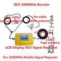 LCD Conjunto Completo 4G LTE DCS 1800 Mhz booster W/Cable + 2 Antenas de interior, DCS repetidor amplificador de señal DCS repetidor kits
