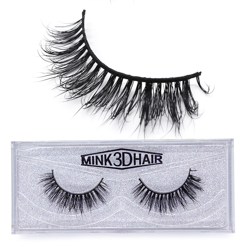 Hot Sale Jiefuxin Lash Mink Eyelashes 3d Mink Hair Lashes Wholesale 100% Real Mink Fur Handmade Crossing Lashes Thick Lash 8 Styles Beauty & Health