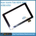 """10.1 """"Для Acer Iconia Tab A510 A511 A700 A701 69.10I20.F01 V0 Версия Планшета С Сенсорным Screeel Датчик Дигитайзер Черный Цвет"""
