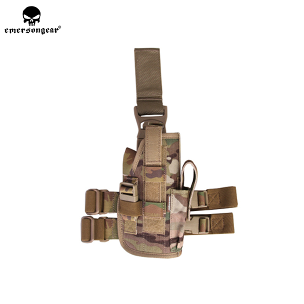 Emerson emersongear Drop Leg Holster Pistol Thigh Holster Tactical Navy Seal Mag Pouch 3 colors