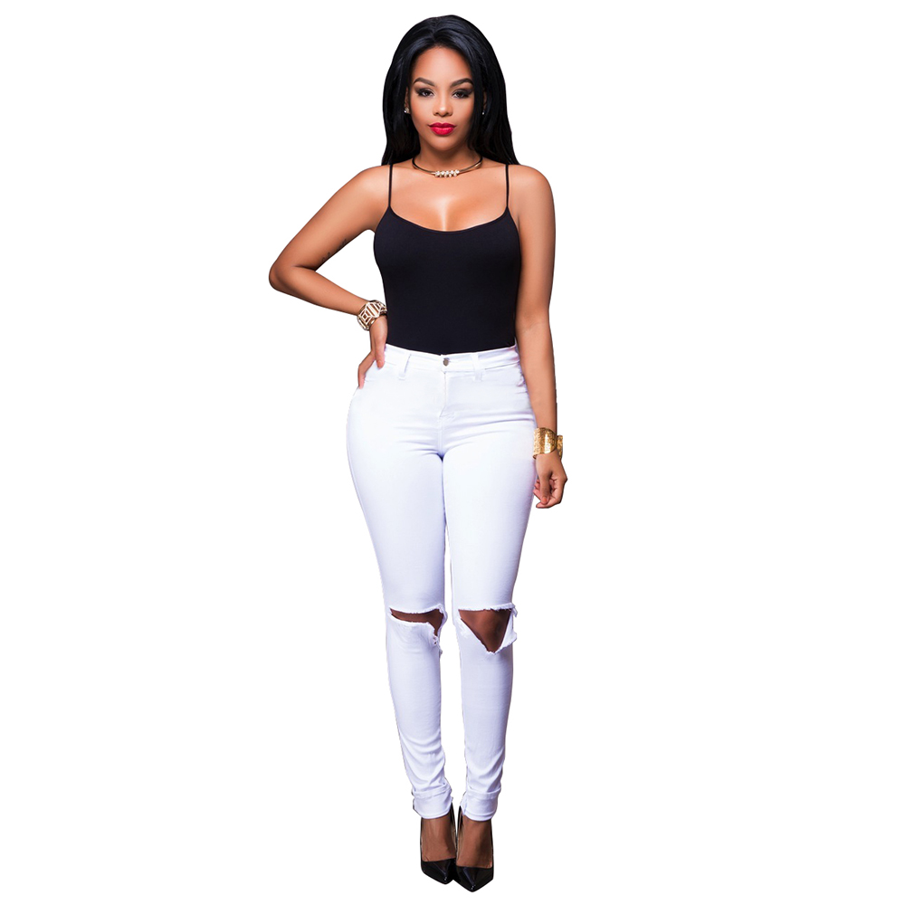 Soft White Jeans Promotion-Shop for Promotional Soft White Jeans ...