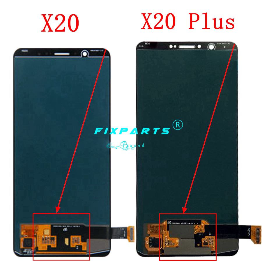 """Original 6.01"""" LCD For Vivo X20 LCD X20 Plus Display With Touch Screen Digitizer Assembly Replacement X 20 Plus Free Shipping-in Mobile Phone LCD Screens from Cellphones & Telecommunications    2"""