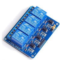 Free Shipping 4 Channel 5V Relay Module Relay Expansion Board With Opticalcoupler Protection New Original