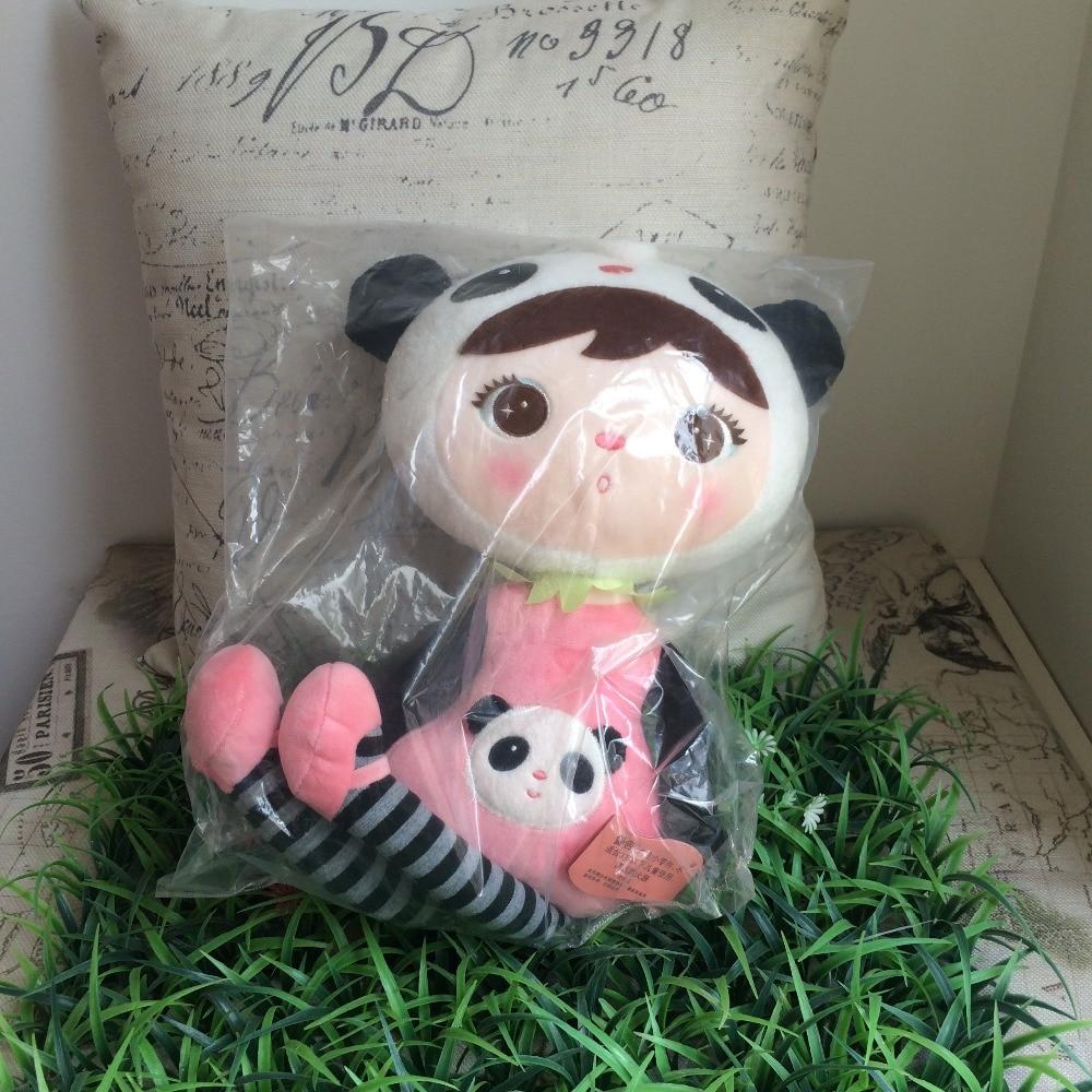 50cm Genuine METOO Cartoon Stuffed Animals Angela Plush Toys Sleeping Dolls for Children Toy Birthday Gifts