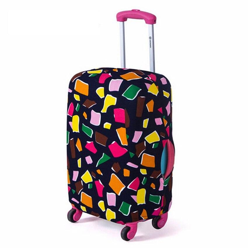 tampa mala de viagem elástico Travel Accessories : Suitcase Cover