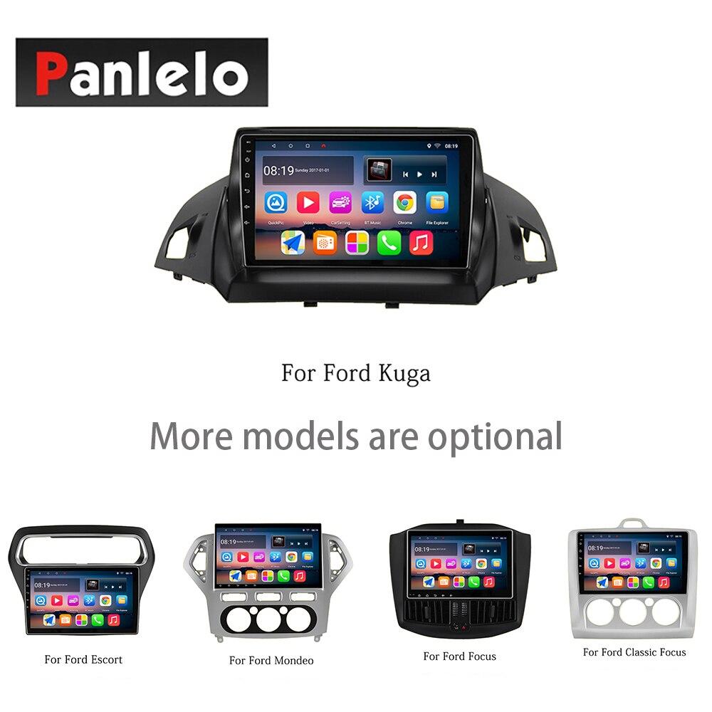 Panlelo Android7.1 Pour Ford Classique Focus Escort Mondeo Kuga Ecosport Bord Taureau Musique lecteur vidéo Soutien DVR Vue Arrière Camer