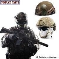 Военная Униформа армии тактический спецназ полиции Пуленепробиваемый Шлем NIJ IIIA арамидных JP боевой Пейнтбол пневматический пистолет самоо