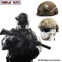 Military army tactical swat police bulletproof Helmet NIJ IIIA Aramid JP combat Paintball air gun self defense fast ballistic he