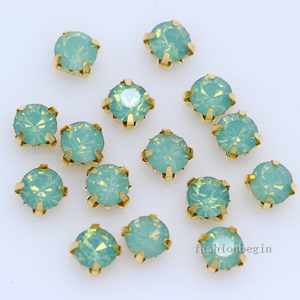 Glitzersteine étoile 8mm Crystal