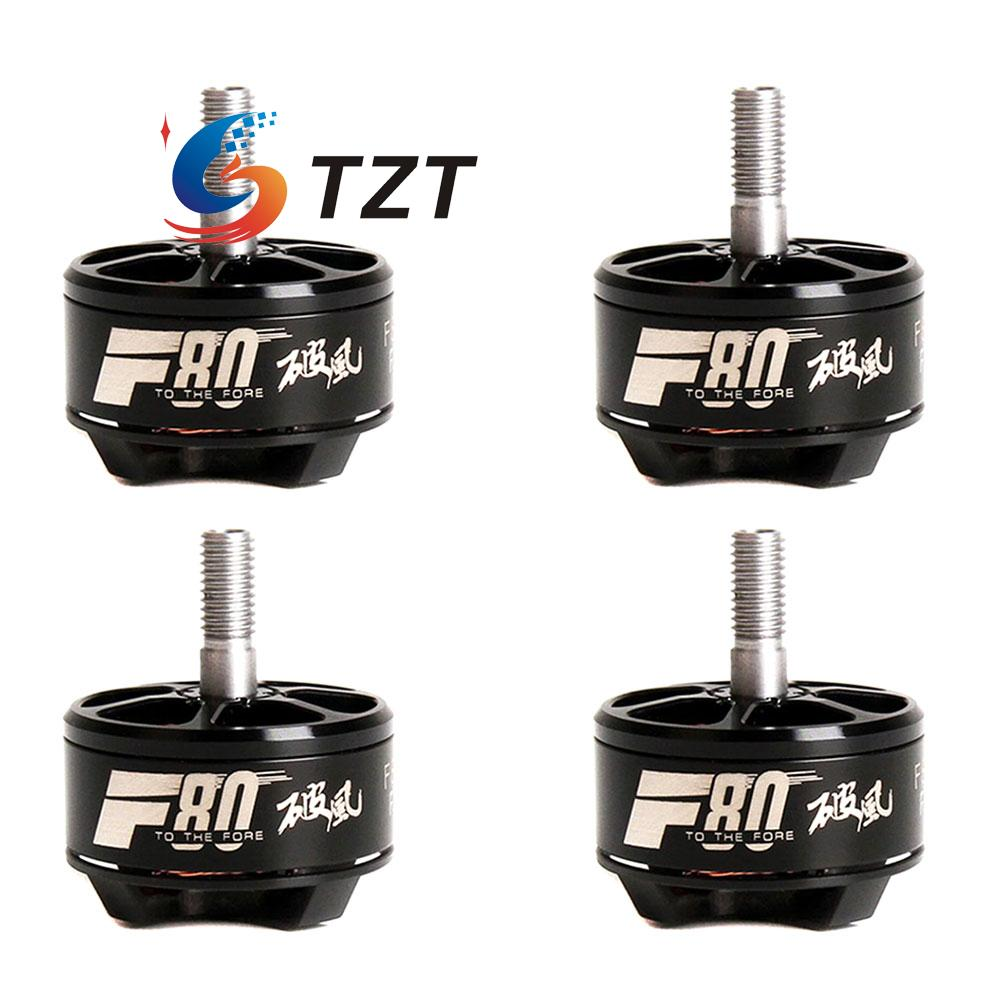 T-Motor F80 Brushless Motor 1900KV/2200KV/2500KV for FPV Racing Drone Quadcopter Aircraft Fixed Wing 2 Pairs a2212 1400kv motor with installation kit for fixed wing rc drone brushless outrunner motor for aircraft quadcopter helicopter