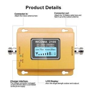 Image 3 - 70db 3G 2100 Repeater Mobiele Telefoon Signaal 2100 Mhz Repeater Mobiele 2100 Mhz Signaal Booster Versterker Lcd Mini 3G Lte Wcdma Umts