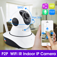 New Arrivall HD 720P WI FI Wireless P2P Mini Baby Monitor CAM Smart Onvif Network Outdoor