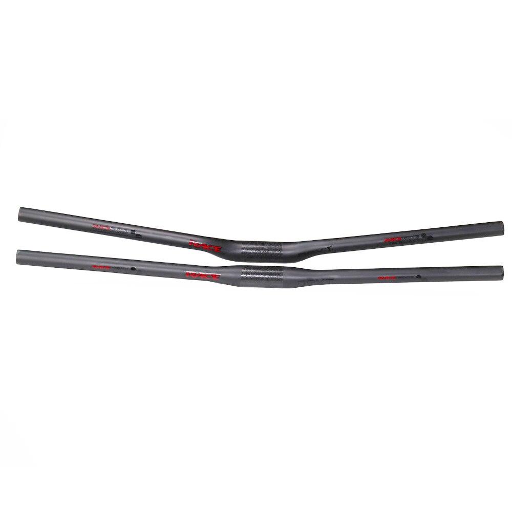 Race Face NEXT Full Carbon Fiber Handlebar Riser//Flat 31.8mm Clamp For Road Bike