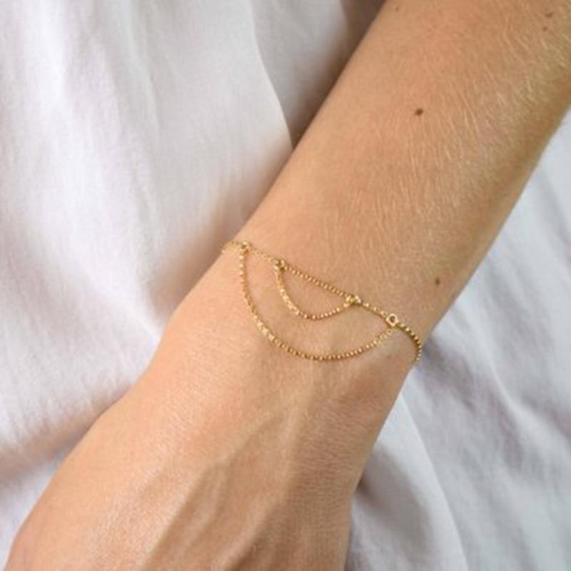 Купить женский браслет ручной работы из серебра 925 пробы