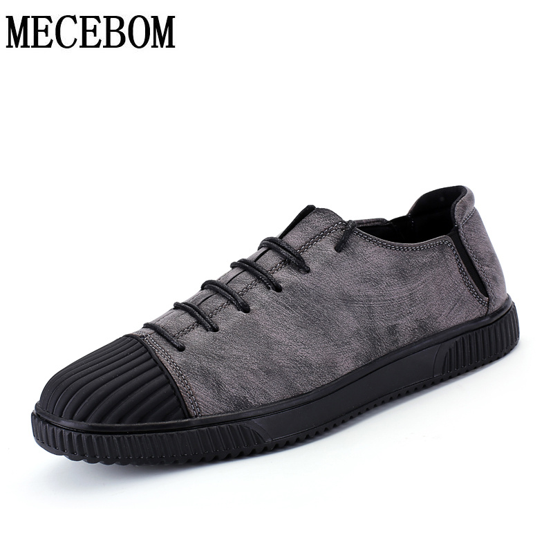 Men's vintage shoes new arrival lace-up breathable men casual shoes comfortable footwears zapatos size 39-44 1716m keloch new men casual shoes fly weave mesh breathable lace up air cushion sport basket flat shoes lovers trainers zapatos mujer