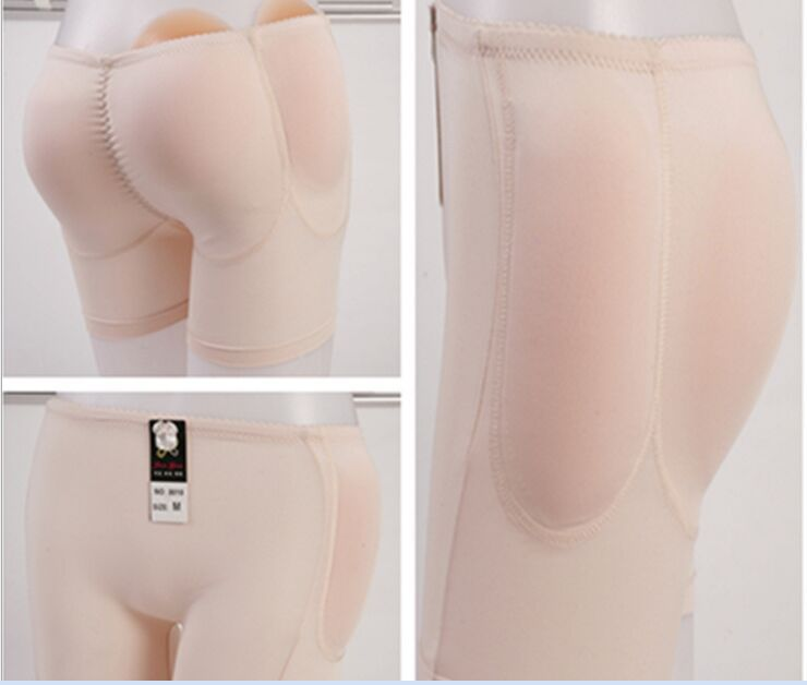 New Sillicone Inserts Panties Removable Pads butt lifter Hip Up Underwear 4 Knickers Bum Buttock Backside Shaper Panty